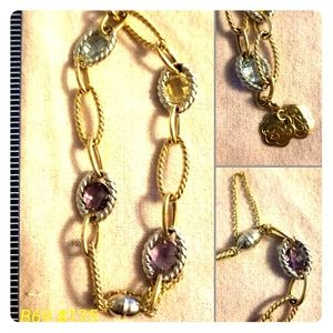 Jewelry - Gold and Gem Bracelet